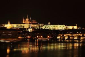 Praga nocą