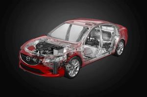 Mazda szkielet osi