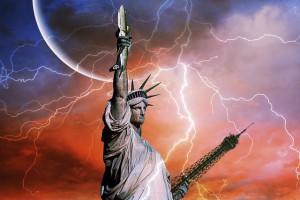 Statua Wolności i prąd