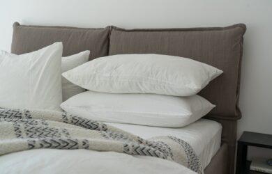 poduszki i materac